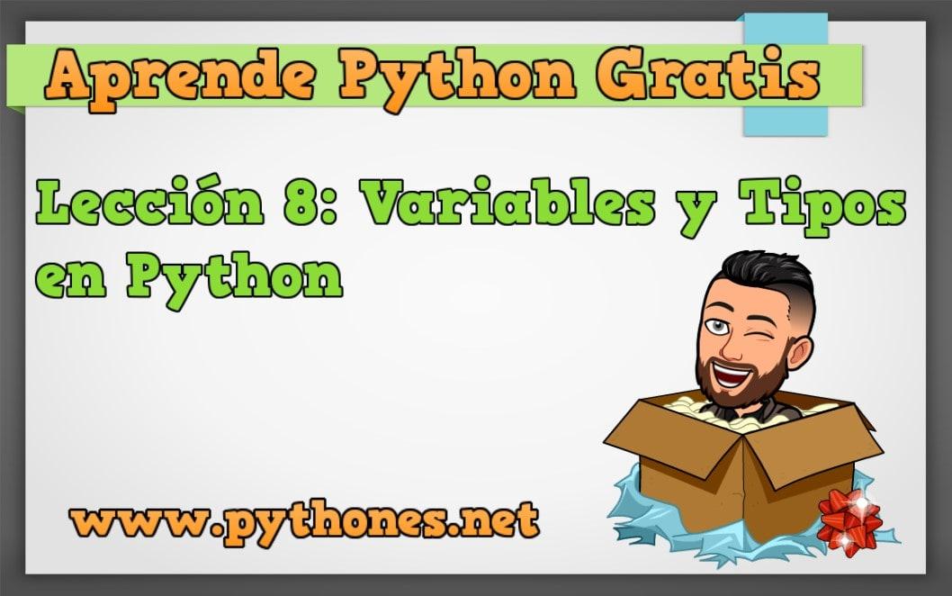 Variables y Tipos de variables