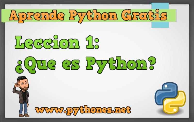 Que es Python?