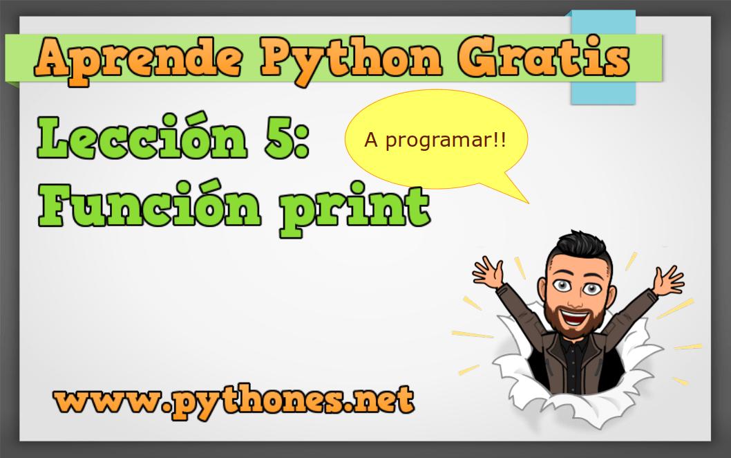 Funcion print()