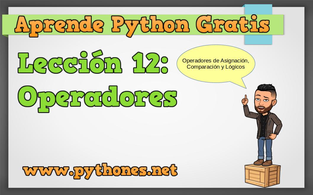 Operadores en Python
