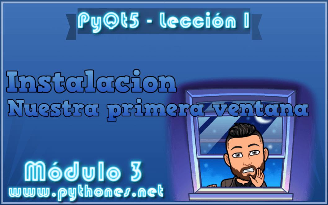PyQt + Designer - Lo instalamos y examinamos código - tutorial