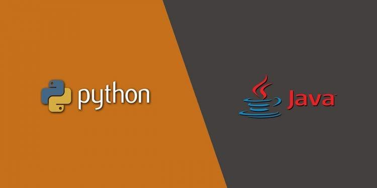desarrollador python vs java