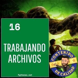 Archivos en python