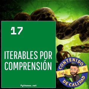 Iterables por comprensión
