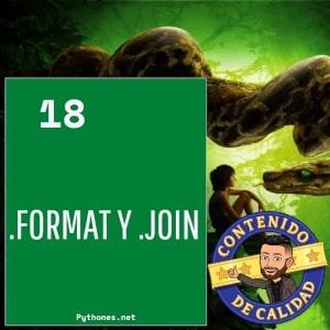 Format y Join en python