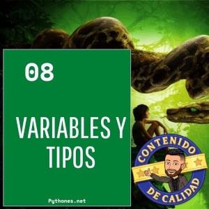 Variables y tipos en Python