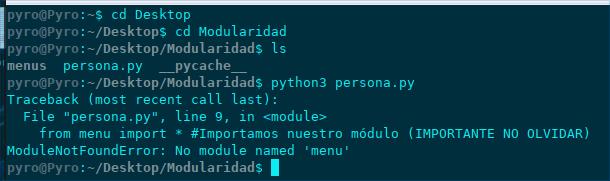 Módulos y paquetes en Python
