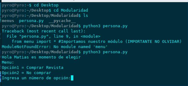 Ejemplo módulos en python